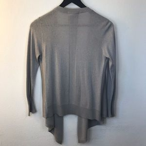 Open Cardigan (wool & cashmere)